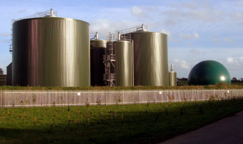 An image of an anaerobic digestion plant